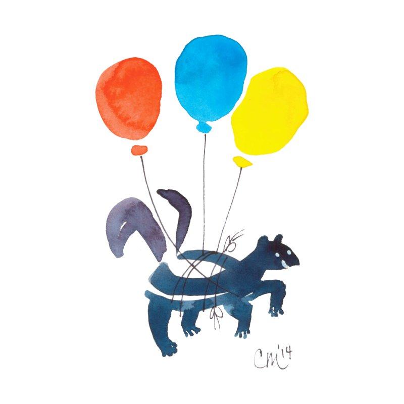 Balloon Animals: Little Stinker Kids Baby Bodysuit by Cayce Moyer Creations