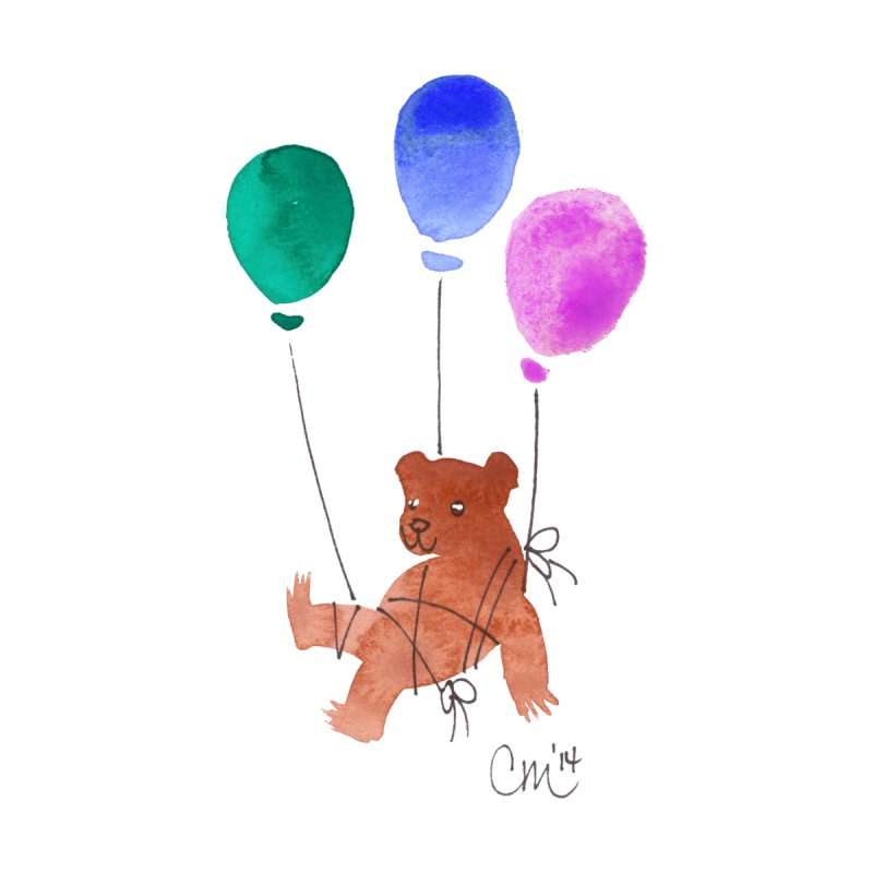Baby Bear Kids T-Shirt by Cayce Moyer Creations