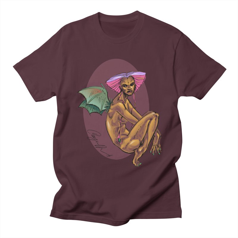 Batty Men's T-Shirt by Cayce Moyer Creations