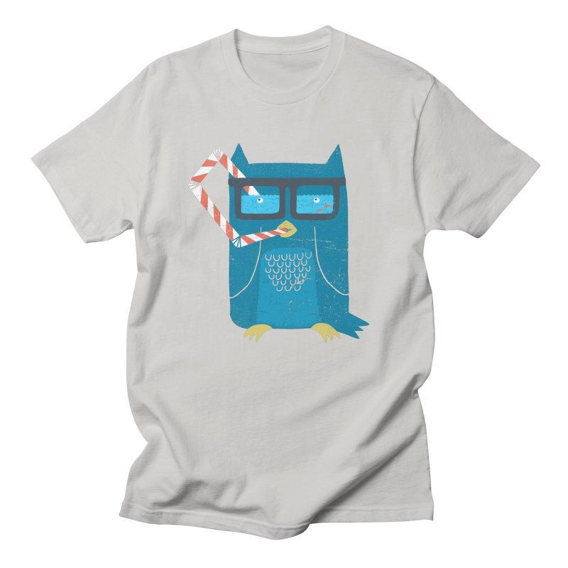 The Owls Glasses Men's T-Shirt by cazking's Artist Shop