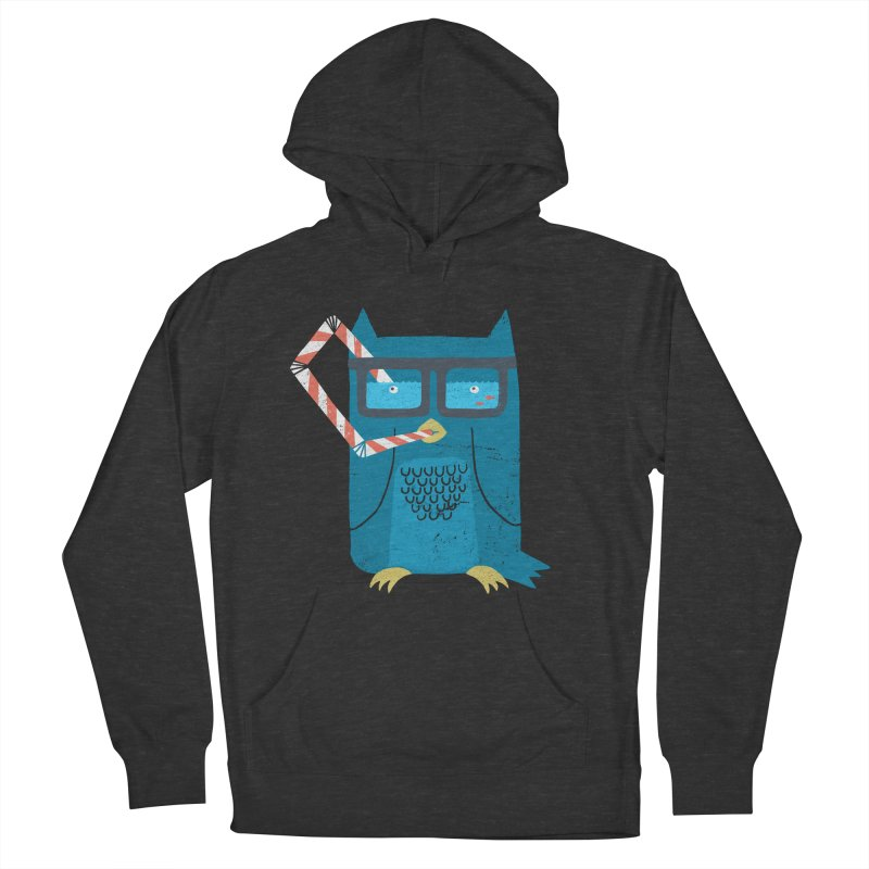 The Owls Glasses Men's Pullover Hoody by cazking's Artist Shop