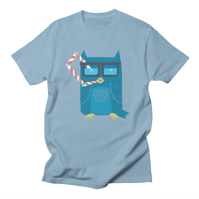 The Owls Glasses Men's Regular T-Shirt by cazking's Artist Shop