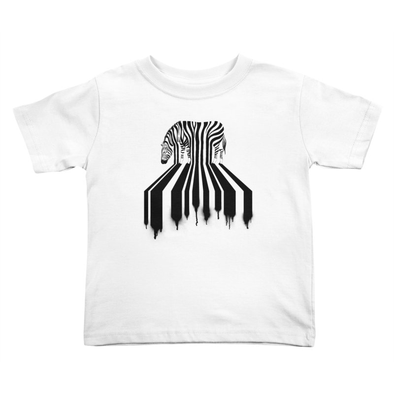 Zebra Crossing Kids Toddler T-Shirt by cazking's Artist Shop