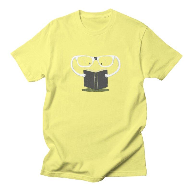 Reading Glasses Men's Regular T-Shirt by cazking's Artist Shop