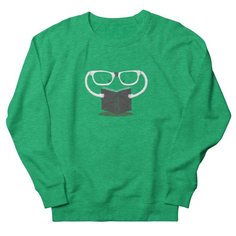 Reading Glasses Women's Sweatshirt by cazking's Artist Shop