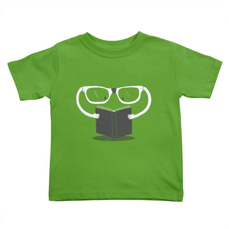 Reading Glasses Kids Toddler T-Shirt by cazking's Artist Shop