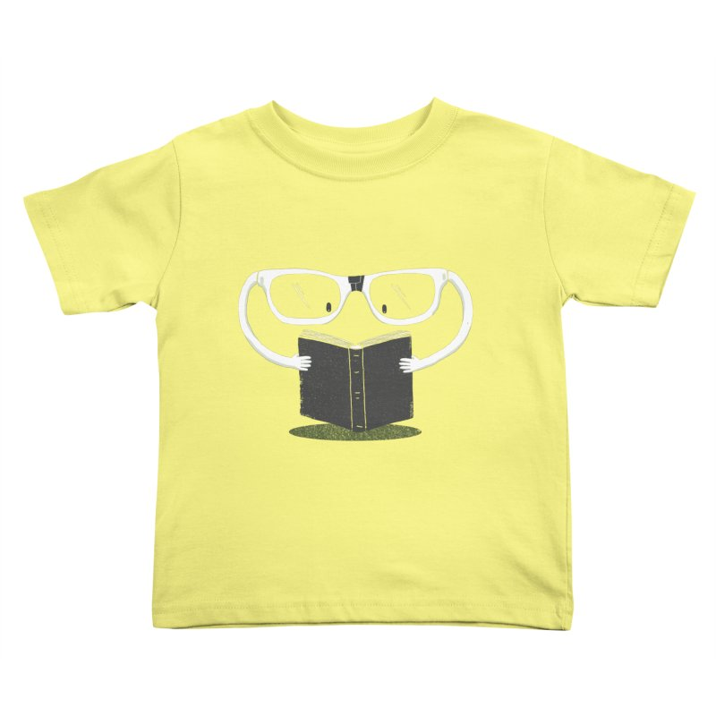 Reading Glasses Kids Toddler T-Shirt by cazking's Artist Shop