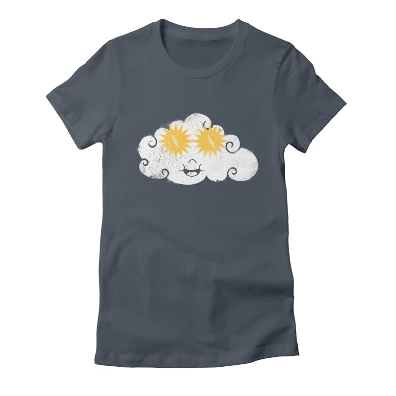 SUNglasses Women's Fitted T-Shirt by cazking's Artist Shop