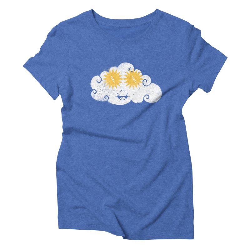 SUNglasses Women's Triblend T-Shirt by cazking's Artist Shop
