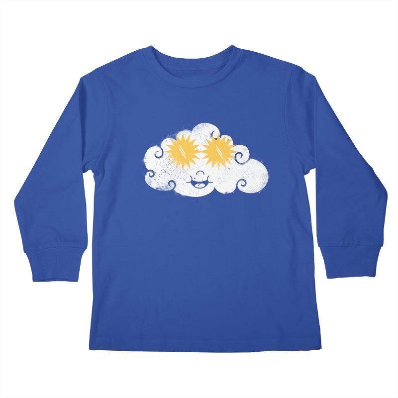 SUNglasses Kids Longsleeve T-Shirt by cazking's Artist Shop