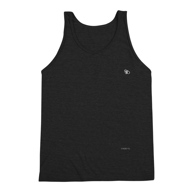 White Classic Men's Tank by Cazzo.cl