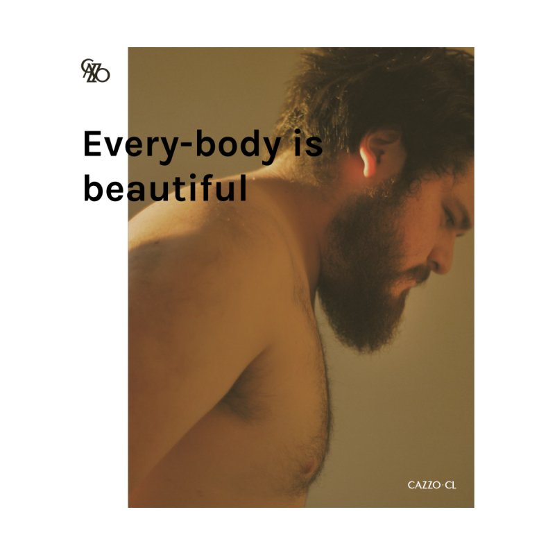 Every-body is beautiful Men's T-Shirt by Cazzo.cl
