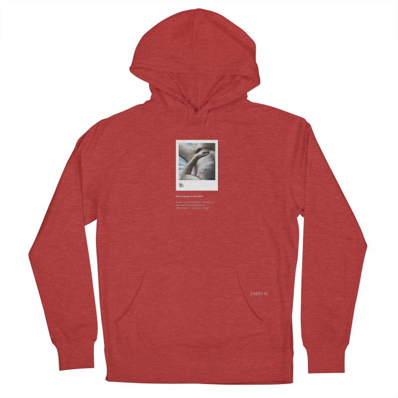 Miau Men's French Terry Pullover Hoody by Cazzo.cl
