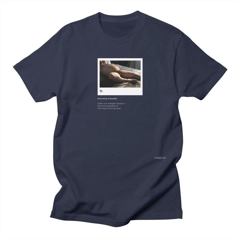 Furry Joe Bear Men's Regular T-Shirt by Cazzo.cl