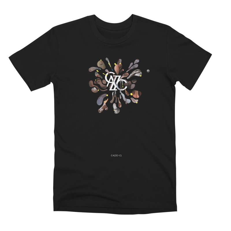 Skin in Men's Premium T-Shirt Black by Cazzo.cl