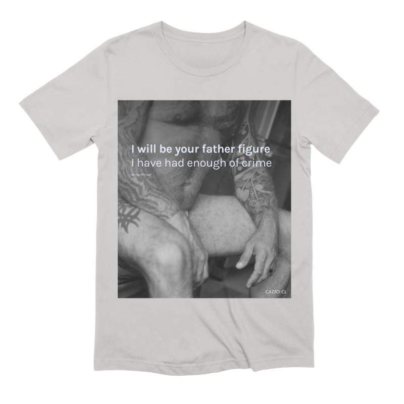 Father figure Men's Extra Soft T-Shirt by Cazzo.cl