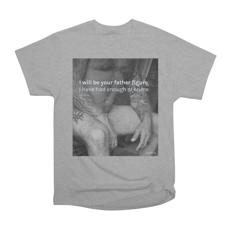 Father figure Men's Heavyweight T-Shirt by Cazzo.cl