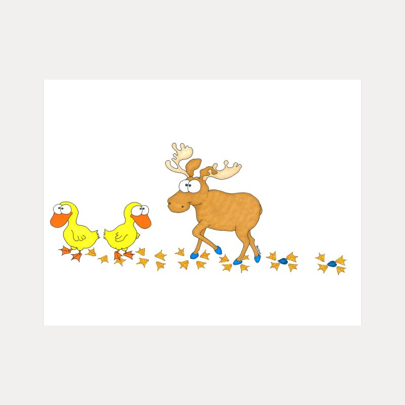Duck, Duck, Moose   None  by cbaddesigns's Artist Shop