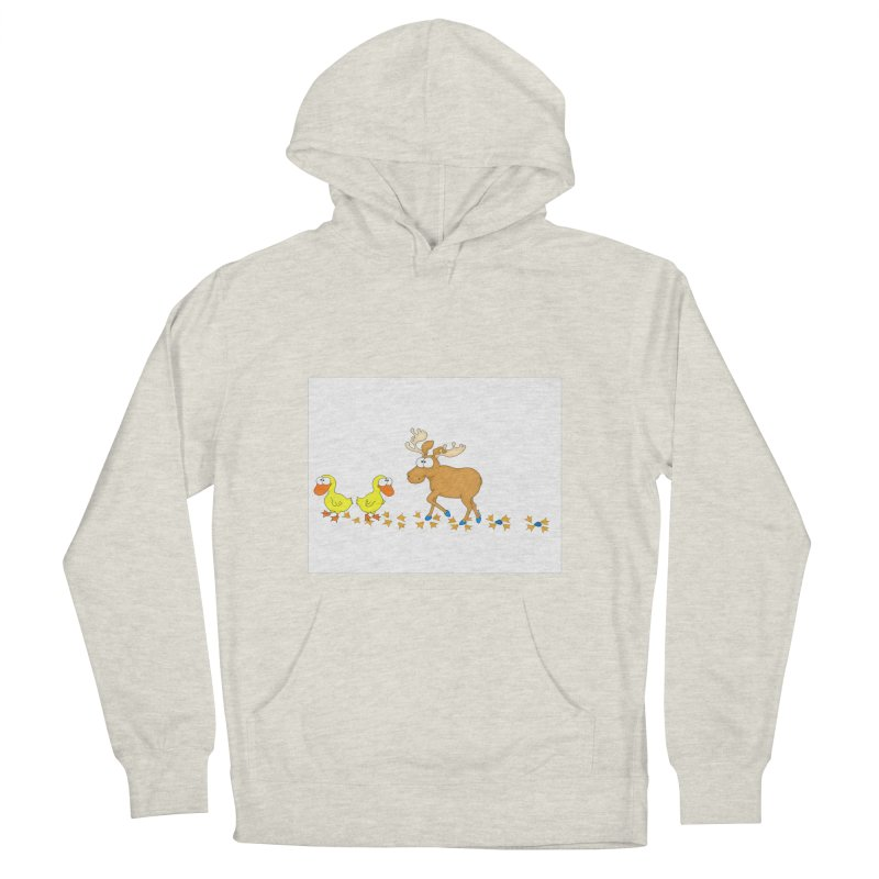 Duck, Duck, Moose   Women's Pullover Hoody by cbaddesigns's Artist Shop