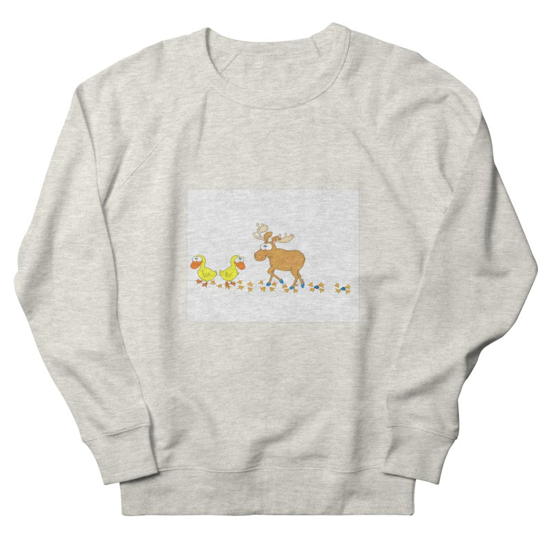 Duck, Duck, Moose   Men's Sweatshirt by cbaddesigns's Artist Shop