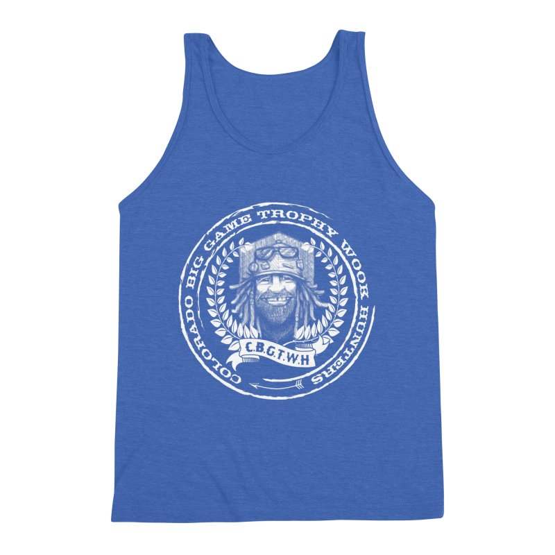 CBGTWH Crest Men's Triblend Tank by Colorado Big Game Trophy Wook Hunters Shop