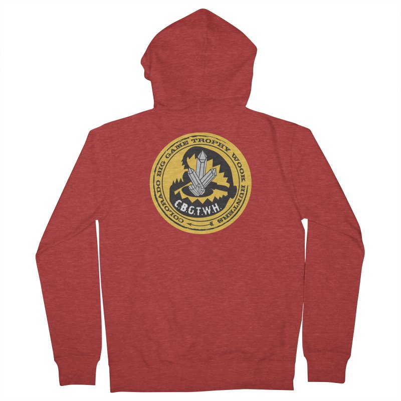 Wook Trap Women's French Terry Zip-Up Hoody by Colorado Big Game Trophy Wook Hunters Shop