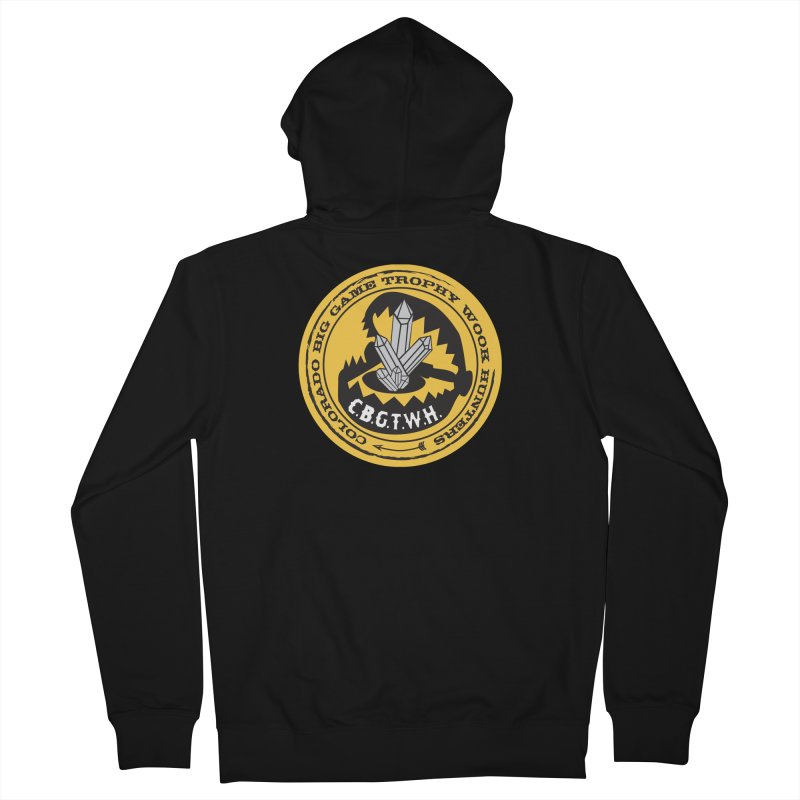 Wook Trap Men's French Terry Zip-Up Hoody by Colorado Big Game Trophy Wook Hunters Shop