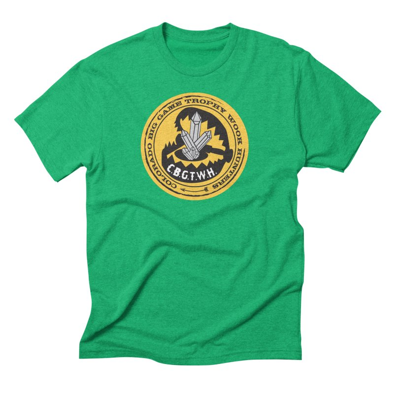Wook Trap Men's Triblend T-Shirt by Colorado Big Game Trophy Wook Hunters Shop