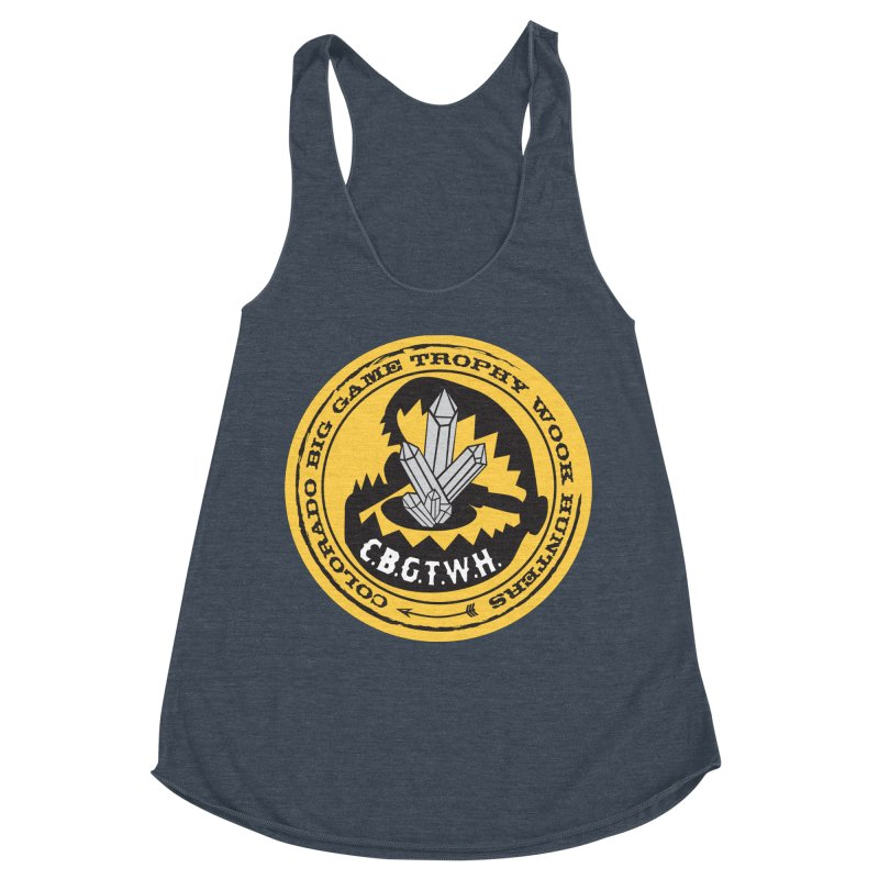 Wook Trap Women's Racerback Triblend Tank by Colorado Big Game Trophy Wook Hunters Shop