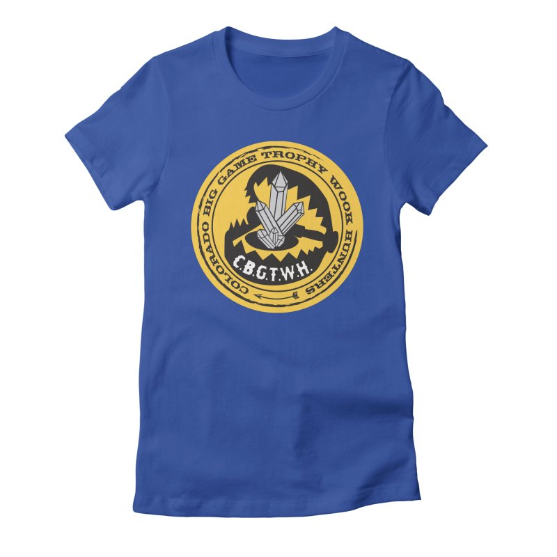 Wook Trap Women's Fitted T-Shirt by Colorado Big Game Trophy Wook Hunters Shop
