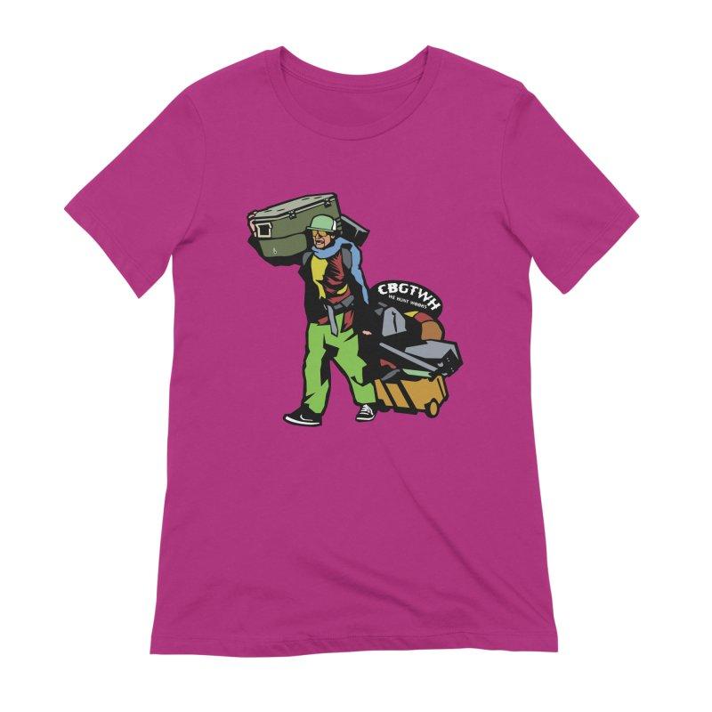 Festipants McCoolerboi Women's Extra Soft T-Shirt by Colorado Big Game Trophy Wook Hunters Shop