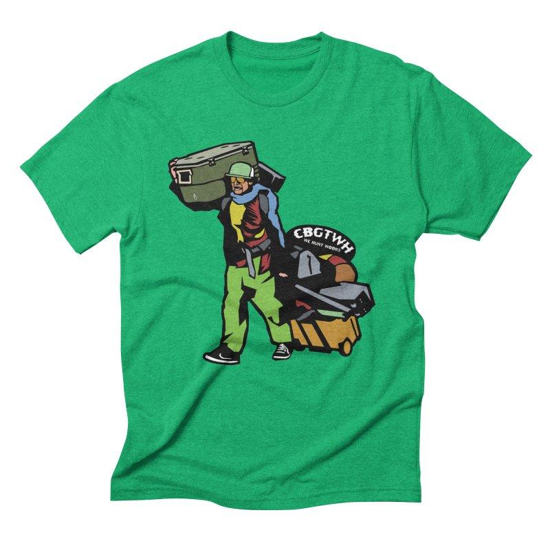Festipants McCoolerboi Men's Triblend T-Shirt by Colorado Big Game Trophy Wook Hunters Shop