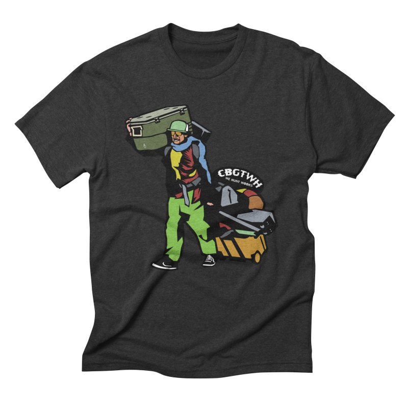 Festipants McCoolerboi in Men's Triblend T-Shirt Heather Onyx by Colorado Big Game Trophy Wook Hunters Shop