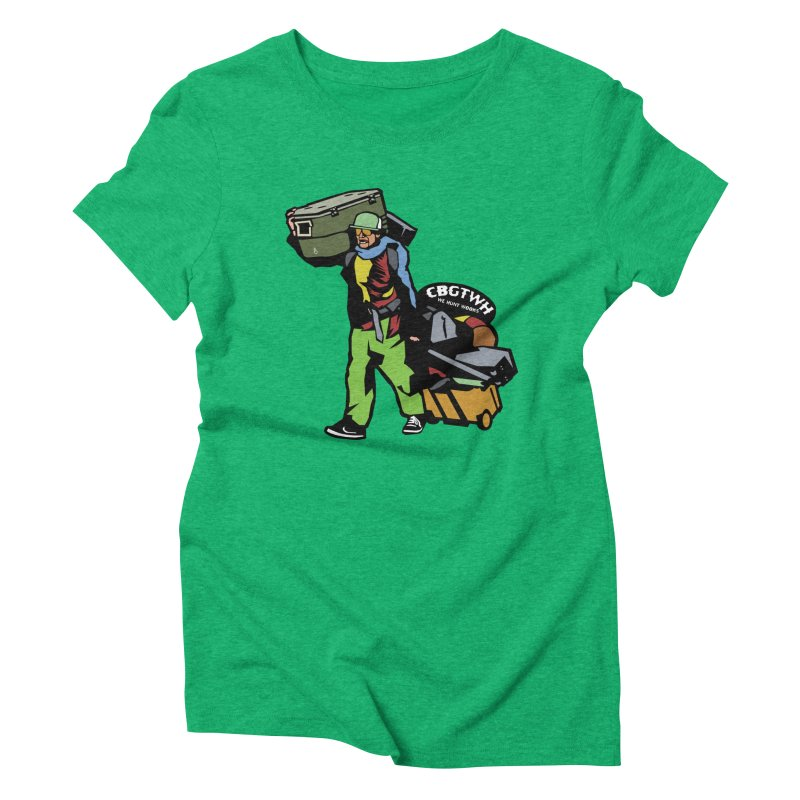 Festipants McCoolerboi Women's Triblend T-Shirt by Colorado Big Game Trophy Wook Hunters Shop