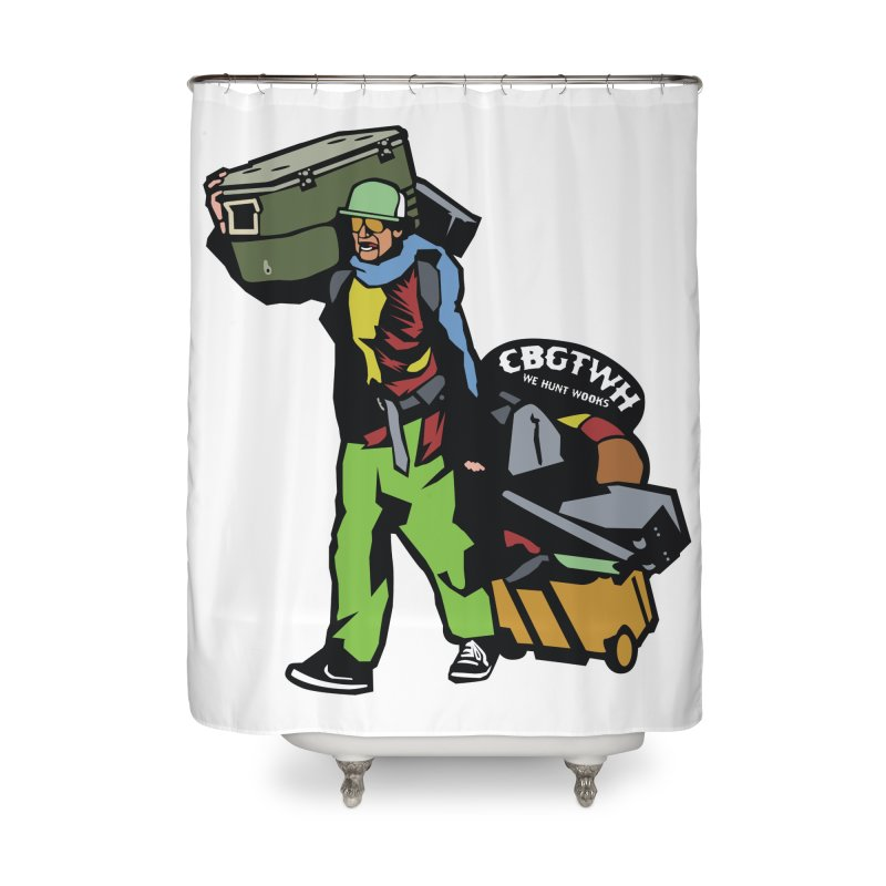 Festipants McCoolerboi Home Shower Curtain by Colorado Big Game Trophy Wook Hunters Shop