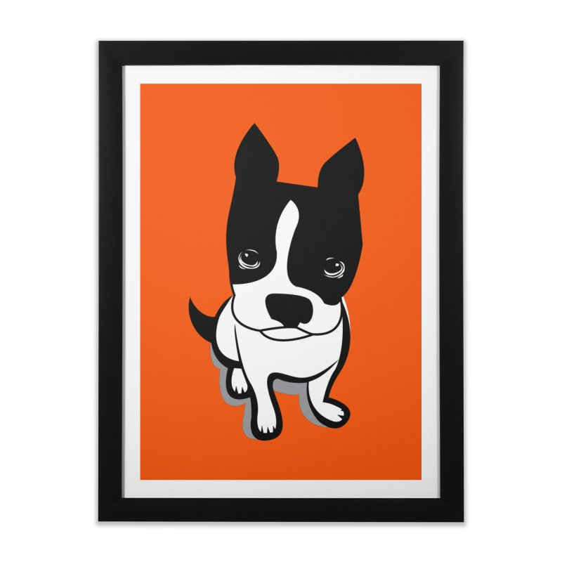 JACK the DOG Home Framed Fine Art Print by CBHstudio's Artist Shop