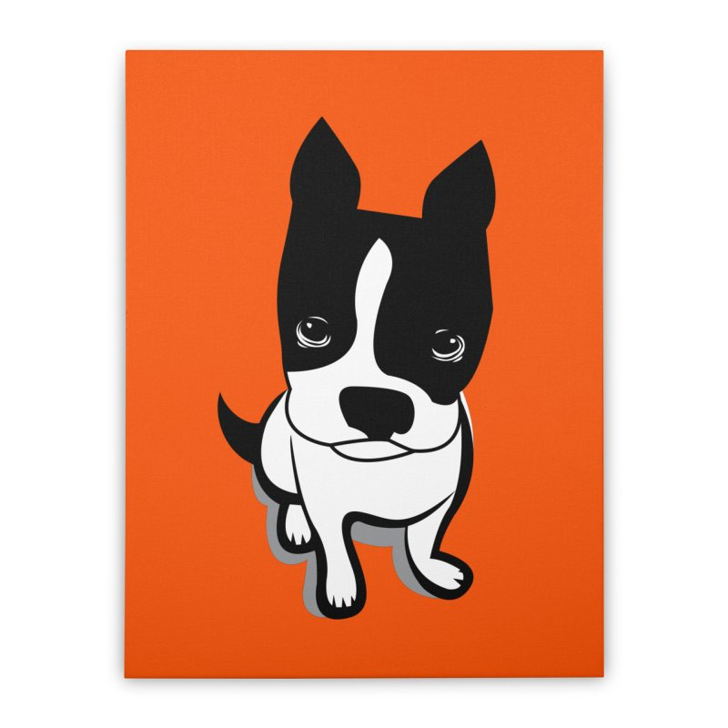 JACK the DOG Home Stretched Canvas by CBHstudio's Artist Shop