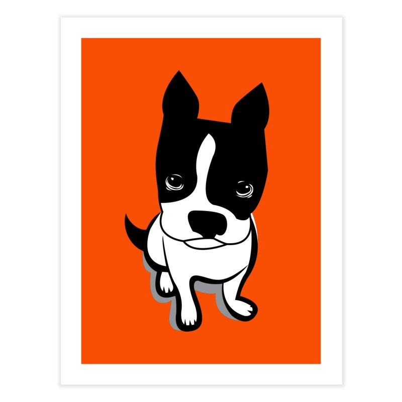 JACK the DOG Home Fine Art Print by CBHstudio's Artist Shop