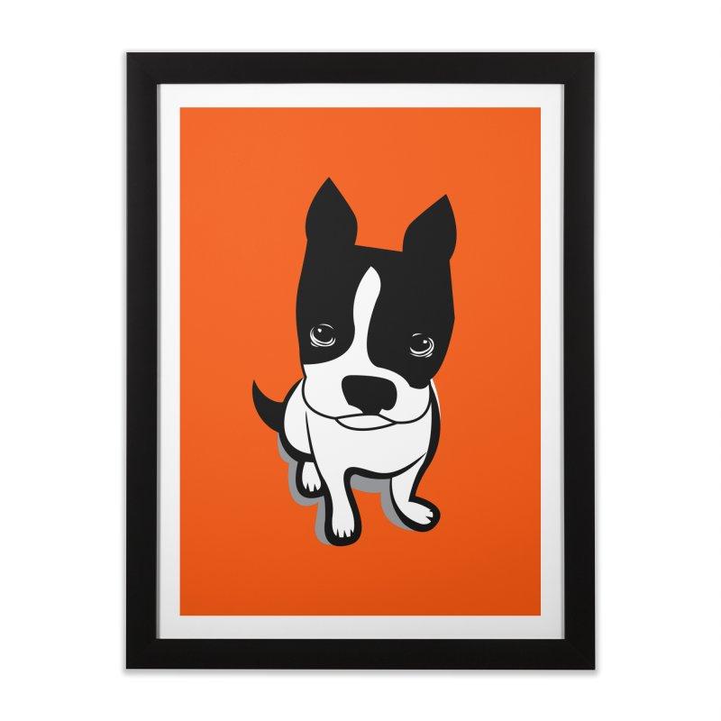 JACK the DOG Home Framed Fine Art Print by CBHstudio's Artist Shop