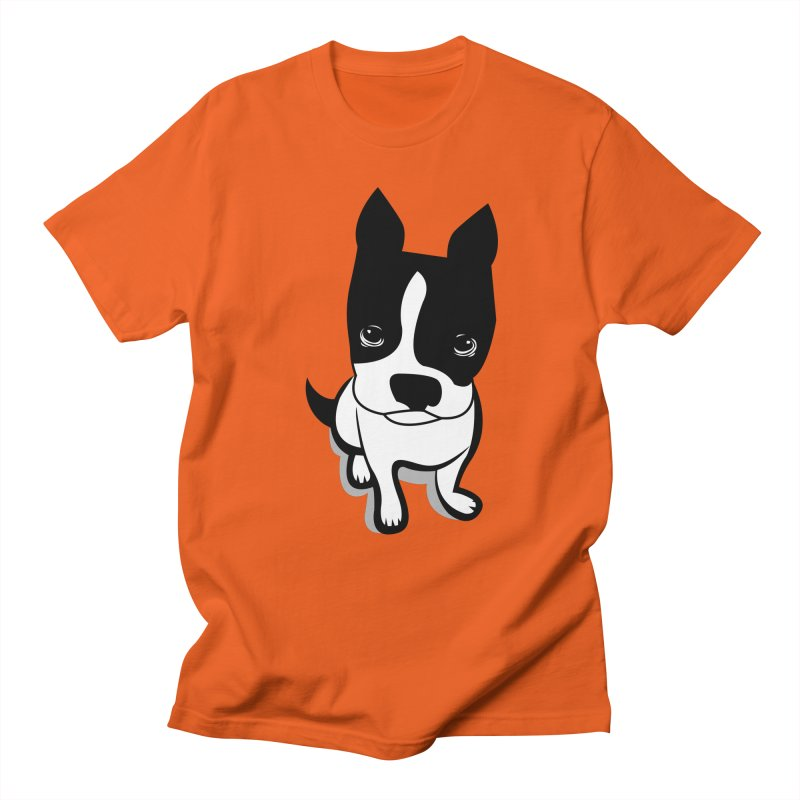 JACK the DOG in Men's T-shirt Orange Poppy by CBHstudio's Artist Shop