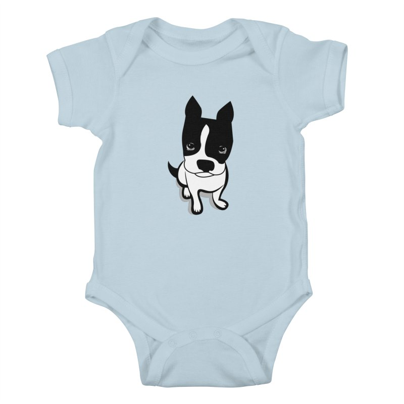 JACK the DOG Kids Baby Bodysuit by CBHstudio's Artist Shop