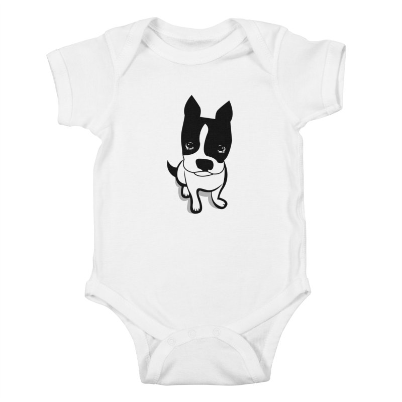 JACK the DOG Kids Baby Bodysuit by CBHstudio's Artist Shop