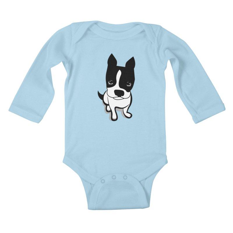 JACK the DOG Kids Baby Longsleeve Bodysuit by CBHstudio's Artist Shop