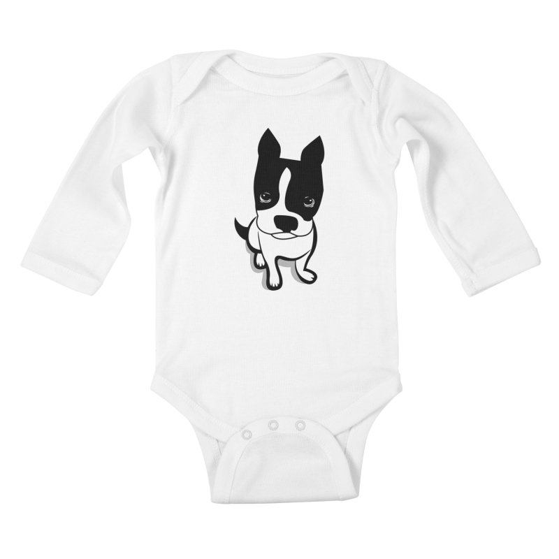 JACK the DOG Kids Baby Longsleeve Bodysuit by CBHstudio's Artist Shop