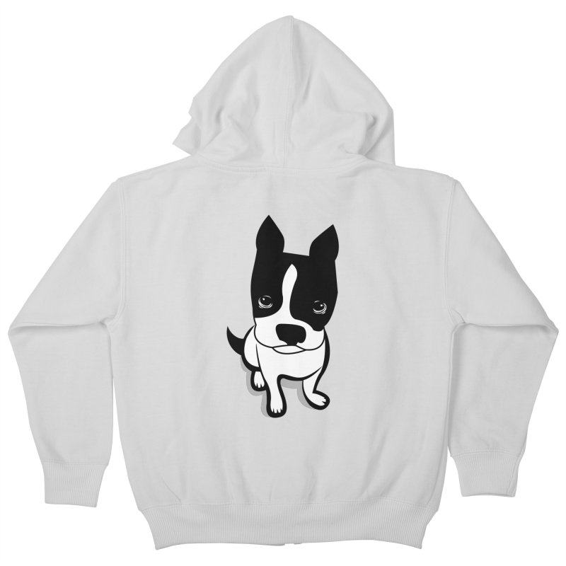 JACK the DOG Kids Zip-Up Hoody by CBHstudio's Artist Shop