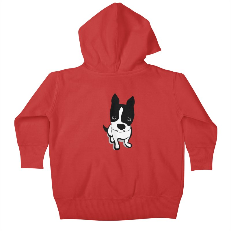 JACK the DOG Kids Baby Zip-Up Hoody by CBHstudio's Artist Shop