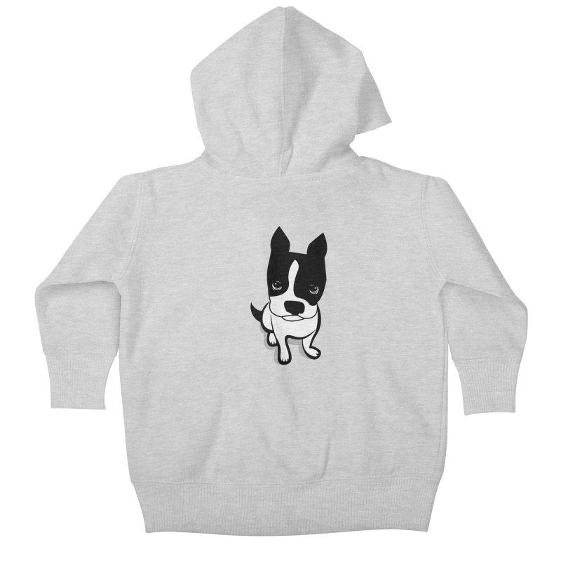 JACK the DOG Kids Baby Zip-Up Hoody by CBHstudio's Artist Shop
