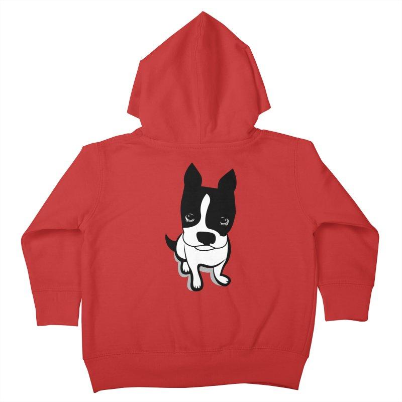 JACK the DOG Kids Toddler Zip-Up Hoody by CBHstudio's Artist Shop