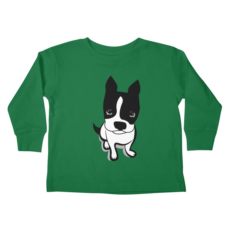 JACK the DOG Kids Toddler Longsleeve T-Shirt by CBHstudio's Artist Shop