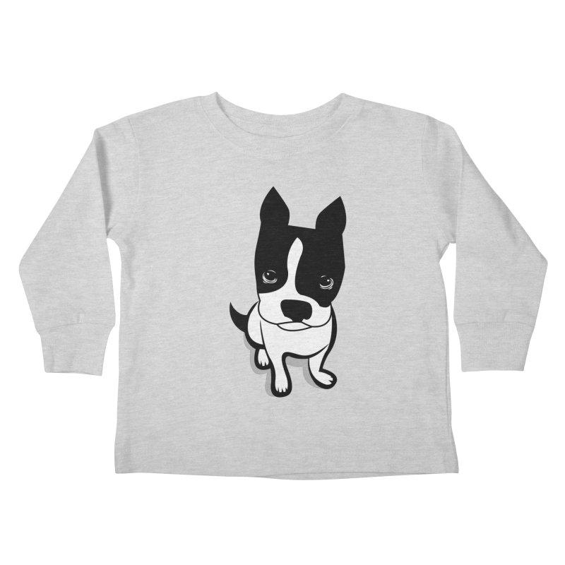 JACK the DOG Kids Toddler Longsleeve T-Shirt by CBHstudio's Artist Shop